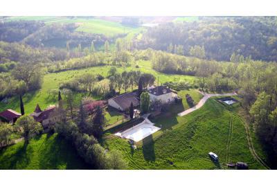 Omgeving Cahors, Frankrijk